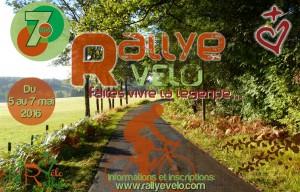 Affiche 7° Rallye Vélo