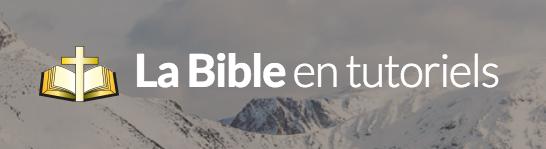 bible-tutoriels